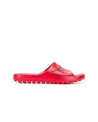 Tongs rouges Nike