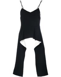 Top à basque en dentelle noir Givenchy
