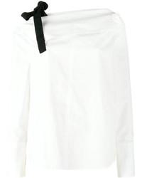 Top à épaules dénudées blanc Proenza Schouler