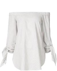 Top à épaules dénudées blanc Tibi