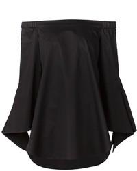Top à épaules dénudées noir Tibi
