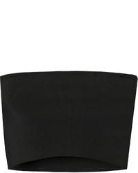 Top court en tricot noir Calvin Klein Collection