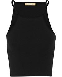 Top court en tricot noir Michael Kors