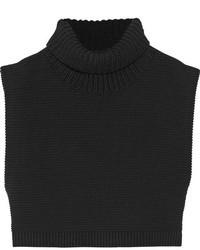 Top court en tricot noir Victoria Beckham