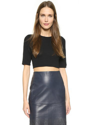 Top court noir Dion Lee