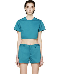 Top court turquoise Dsquared2
