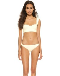 Top de bikini beige Kate Spade