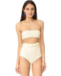 Top de bikini beige Mara Hoffman