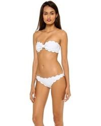 Top de bikini blanc