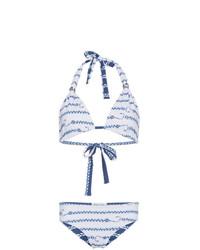 Top de bikini bleu clair Belusso