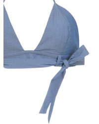 Top de bikini bleu clair Adriana Degreas
