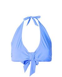 Top de bikini bleu clair Heidi Klein