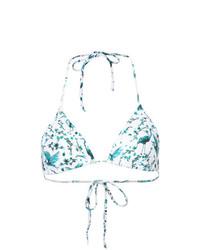 Top de bikini bleu clair Onia