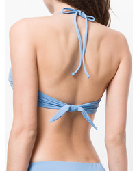 Top de bikini bleu clair Mara Hoffman