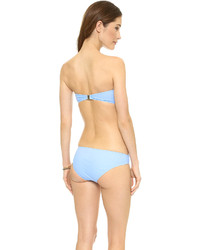 Top de bikini bleu clair Zimmermann