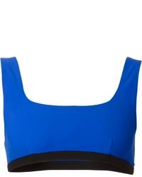 Top de bikini bleu Alexander Wang