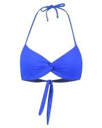 Top de bikini bleu Ralph Lauren