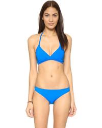 Top de bikini bleu Tory Burch