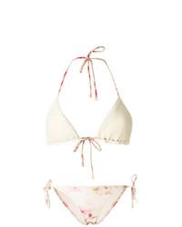 Top de bikini en crochet blanc Zimmermann