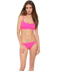Top de bikini fuchsia Milly
