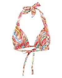 Top de bikini imprimé cachemire multicolore Ralph Lauren