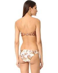 Top de bikini marron clair Zimmermann