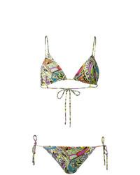 Top de bikini multicolore Etro