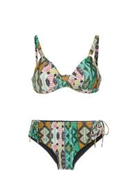 Top de bikini multicolore Lygia & Nanny