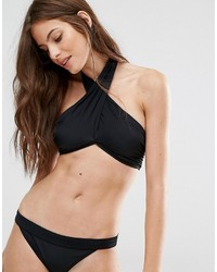 Top de bikini noir Noisy May