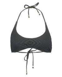 Top de bikini noir Ralph Lauren