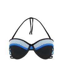 Top de bikini noir TWINTIP