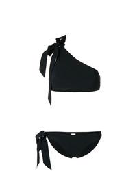 Top de bikini noir Zimmermann