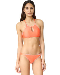 Top de bikini orange Splendid