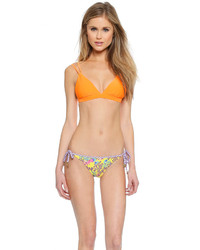 Top de bikini orange Vix Paula Hermanny