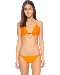 Top de bikini orange Zero Maria Cornejo