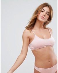 Top de bikini rose Missguided