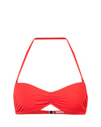 Top de bikini rouge