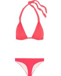 Top de bikini rouge Eberjey