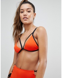 Top de bikini rouge Noisy May