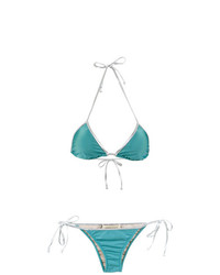 Top de bikini turquoise Adriana Degreas