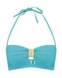 Top de bikini turquoise Etam