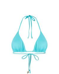 Top de bikini turquoise Fisico