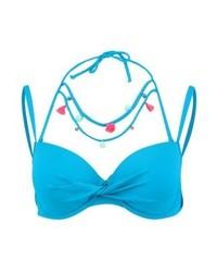 Top de bikini turquoise Hunkemöller