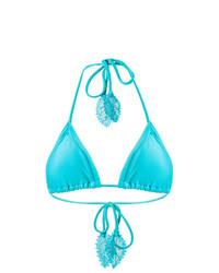 Top de bikini turquoise Martha Medeiros