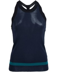 Top sans manches bleu marine Rag & Bone