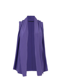 Top sans manches violet Haider Ackermann