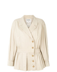 Trench beige Chanel Vintage