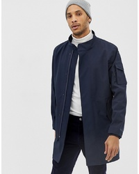 Trench bleu marine Selected Homme