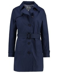 Trench bleu marine Tom Tailor