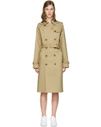 Trench brun clair A.P.C.
